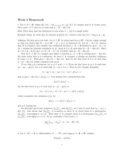 Homework 3 Solution Spring 2013 on Advanced Multivariable Calculus