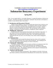 Buoyancy (submarine)