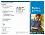 Mailbox Services