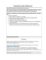 Mini-Bibliographic Essay Topic and References Proposal Template (1)