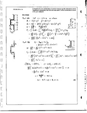 734_Mechanics Homework Mechanics of Materials Solution