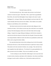a personal narrative about the treatment of african americans As he often does in the narrative, douglass takes his personal experience of hearing slaves sing on their douglass focuses on the mental and spiritual, rather than physical, consequences of covey's treatment order narrative of the life of frederick douglass, an american slave at bncom.