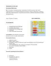 Week 1 BSBMKG419 Analyse consumer behaviour Readings.pdf