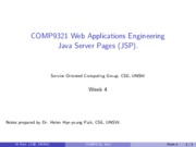 4.1.Java Server Pages