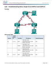 10.2.3.3-Lab-Troubleshooting-Basic-Single-Area-OSPFv2-and-OSPFv3.doc