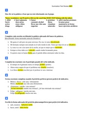 Summative Test Review Key