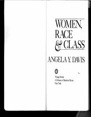 Davis+Women+Race+Class+Ch+1+and+2