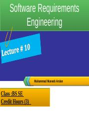 Lecture 10 (Software Requirements Engineering).ppt