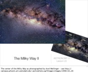 Lecture 22 - The Milky Way II