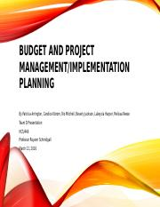 Budget and Project Management.pptx