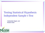 ExampleIndependentSampleTests.ppt