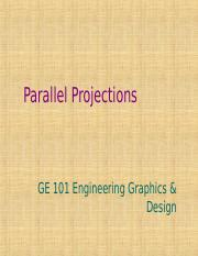 L8- Parallel projections.ppt