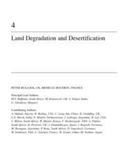 LAND DEGRADATION AND DESERTIFICATION-SAR_Chapter 4