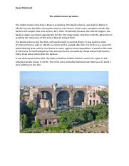 The oldest roman structure.docx