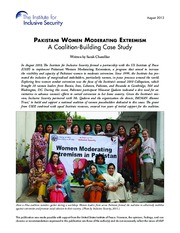 Pakistani-Women-Moderating-Extremism-A-Coalition-Building-Case-Study