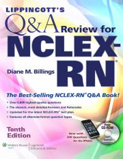 Lippincotts Q&A Review for NCLEX-RN 10th Edition.pdf
