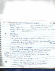 Chapter 3 ~ Phsyics Lecture Notes