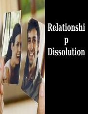 Chapter 13 - The Dissolution and Loss of Relationships Student.ppt