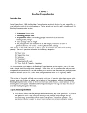 ISEE Reading Comprehension - Introduction - Test Prep