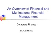 Introduction to Financial Management.1st