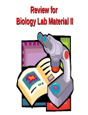 Biology Lab Test 2 Review-2