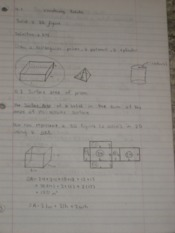 Solids & Cylinders Notes