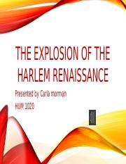 The Explosion of the Harlem Renaissance_Morman_C.pptx