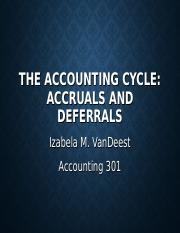 Ch. 4 - Accruals and Deferrals (1)