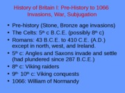 History of Britain Icomp
