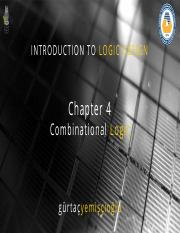 Chapter4 Combinational Logic