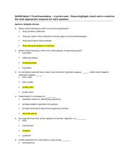 psy 201 week 9 final exam Psy 240 week 9 final assignment analyzing psychological disorders.