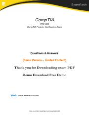 Comptia Project+ Study Guide Pdf