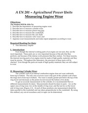 Engine Measurement