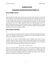 Set6_Chapter4_Transmitter_Architectures