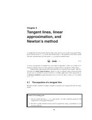 Ch 5 Tangent Lines, Linear Approximation, and Newton's Method.pdf