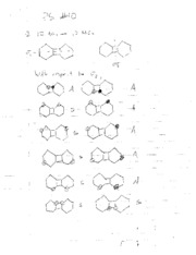 CHEM 216 Problem Set 10 Solutions (Spring 2008)