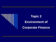 Topic02-Financial Environment