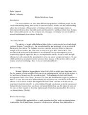 Worldview Essays: Examples, Topics, Titles, & Outlines