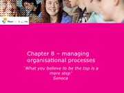 Organisation and Management chapter 8 Sheets Marcus VanDam