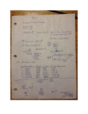 Finance PV and FV comm 298 equation note sheet