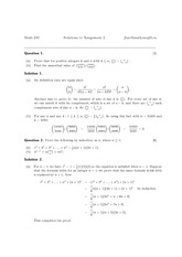 MATH 240 Fall 2013 Assignment 2 Solutions