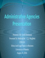 TR-Administrative Agencies.pptx