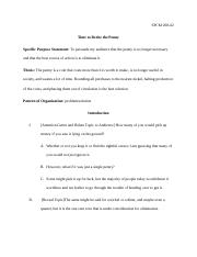 Sample Policy Speech problem.solution.docx