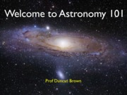 2013 Lecture 01 - Introduction to Astronomy