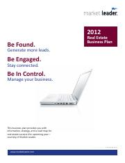 2012BusinessPlan-compliments-of-MarketLeader