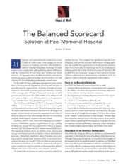 The Balanced Scorecard Solutions at Peel Memorial Hospital (1).pdf