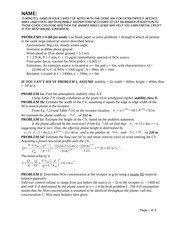 CE 372 Practice Exam 3 Solutions