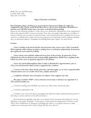 359 Paper 1 Checklist and Rubric