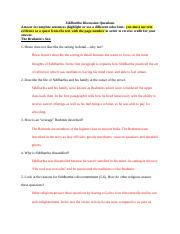 Siddhartha Discussion Questions 1 - 2.docx