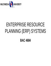 69126_Week 1 Lecture 1 ENTERPRISE RESOURCE PLANNING (ERP) SYSTEM.ppt